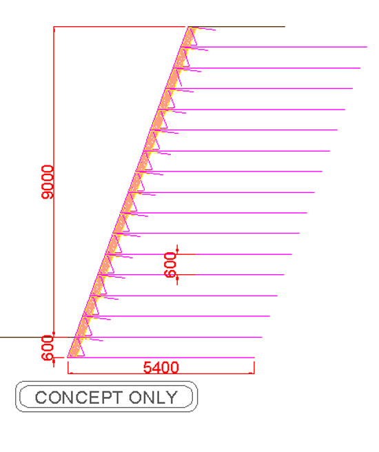 Retaining Wall Calculator - Geoman Ltd