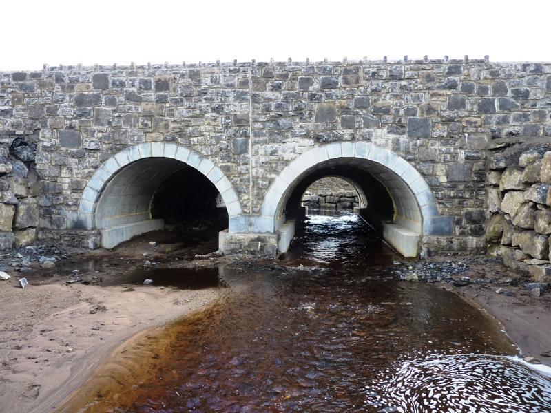 Segmental Arch Bridge Foundations, Co  Sligo (2010) - Geoman